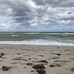 Windy, cloudy, cool, Haulover