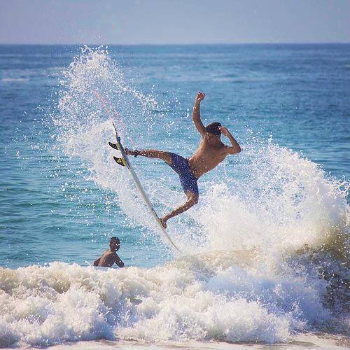 Surf in Barra, Barre de Navidad