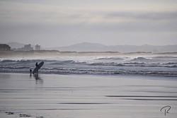 Observando, Playa de Somo photo