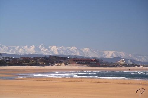 Picos desde Somo, Playa de Somo