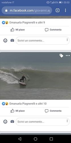 Winter swell, Cesano Piramidi
