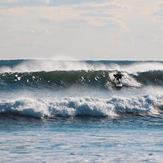 Dropping in, Baker s Beach