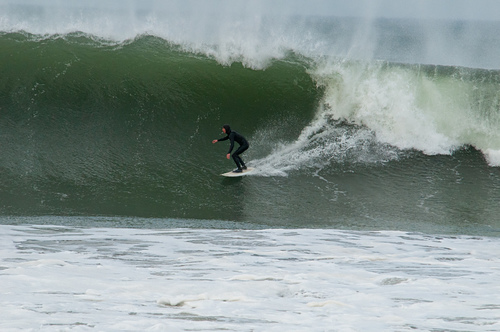 Dropping in, Ventura Point