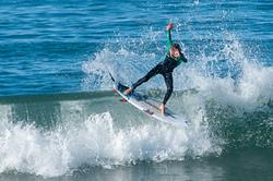 Showing off, San Buenaventura State Beach photo