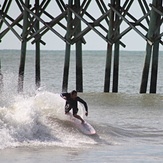 buckets, Surf City Pier