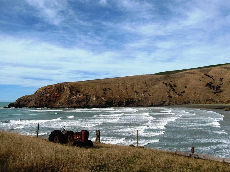 Banks Peninsula - Raupo Bay surf break