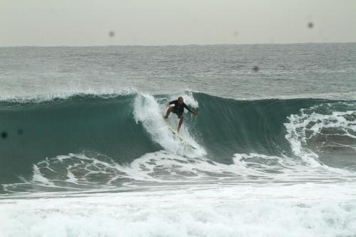 Steep drop @Chinch Jordy, El Chinchorro (Red Beach)