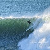 Big drop, Steamer Lane-Middle Peak
