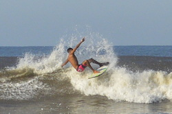 Surf playa novillero  photo