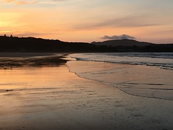 Sunset, Marble Hill Strand photo