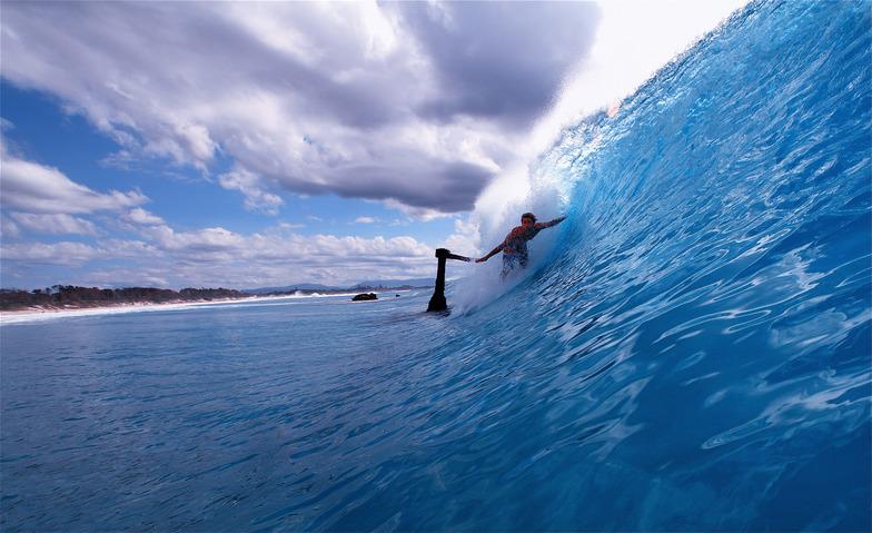 Byron Bay - The Wreck surf break