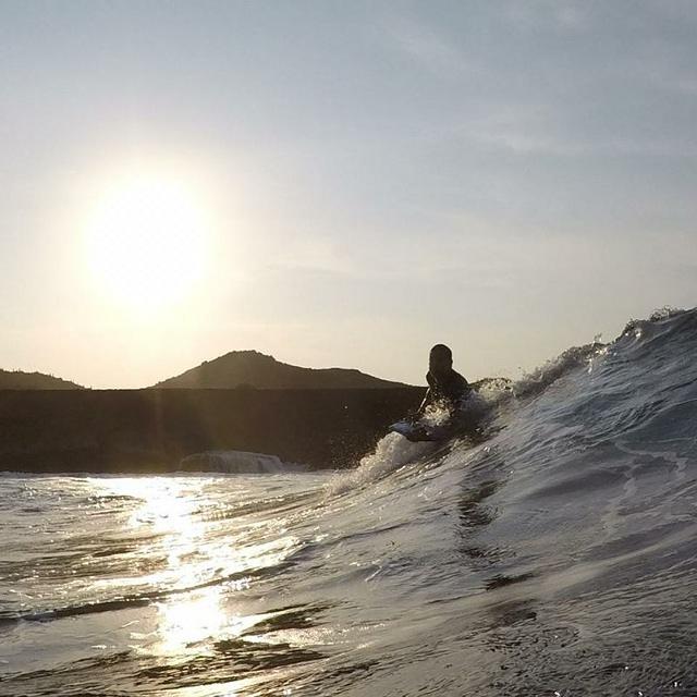 Andicuri surf break