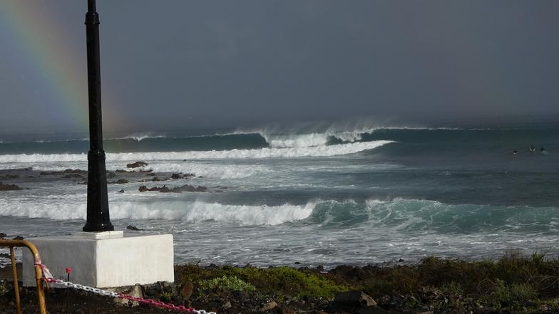 Arrieta surf break