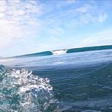 Set wave at sandhills, Anatori River
