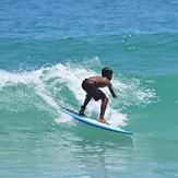 Local Surfer, Nai Harn Beach