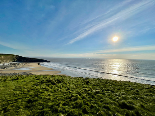 Northerly winds, Southerndown