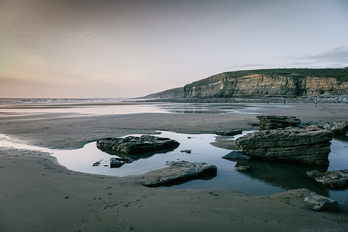 Low tide sunset, Southerndown