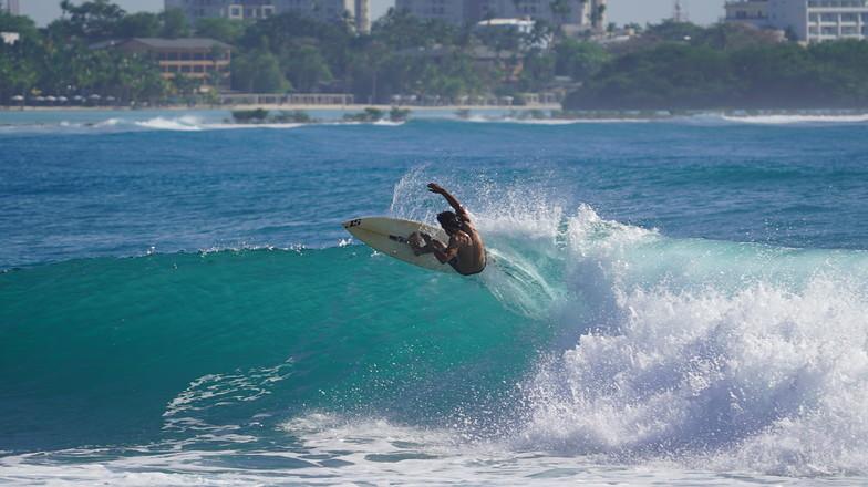 La Boya surf break