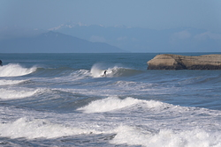 good strong swell, Punakaiki photo