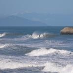 good strong swell, Punakaiki