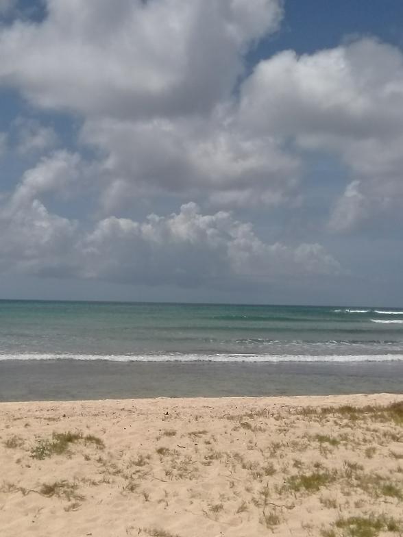 Arashi Bay Reef surf break