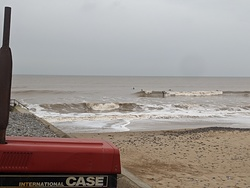 Cromer 3-4ft as tide drops photo