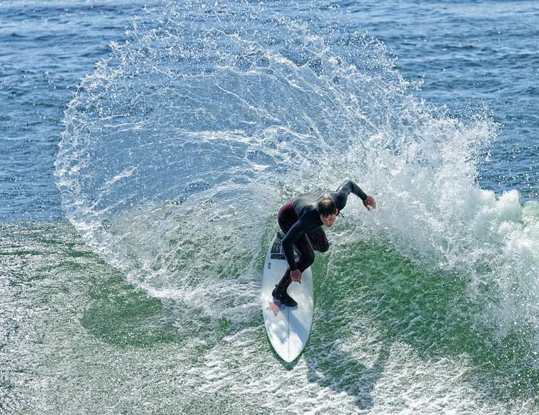 Top Turn, Steamer Lane-The Point