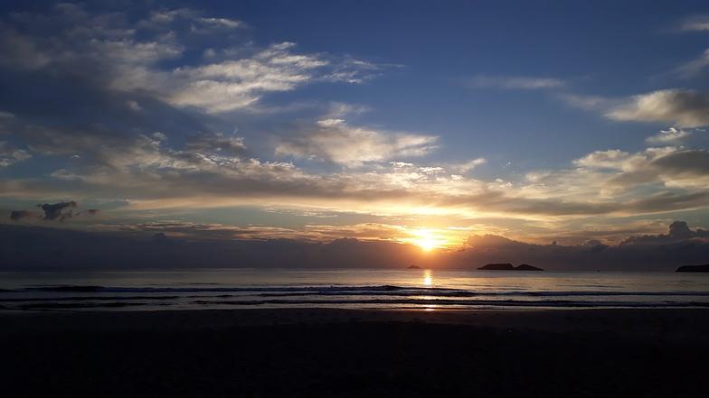 Sunshine in to de Zinga Beach, Ingleses