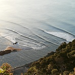 A small day with good lines, Whakatane Heads