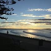 Evening surf, Napier - Hardings Road