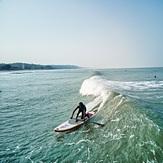Nor Mohammed, 1st Bangladeshi standup surfer, Cox's Bazar