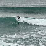 Lorenzo Hole en el traning, Playa Norte