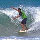 Local surfer, Kudat (Pantai Kosuhui)