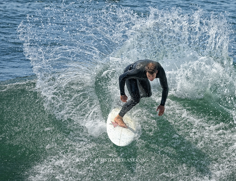 Nice move, Steamer Lane-The Point