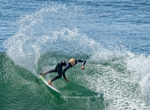 Cutback, Steamer Lane-The Point
