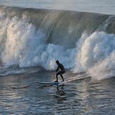 Early surfing, Steamer Lane-Middle Peak