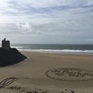 Beach art, Ballybunion