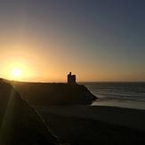 Winter sunset, Ballybunion