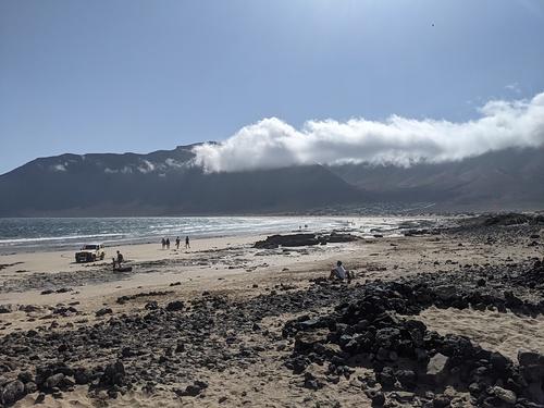 Mountain view, Playa de Famara