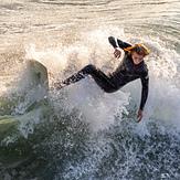 Oceanside Surfer, Oceanside Pier