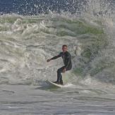 Surfing at Bradley Beach