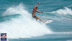 Surfing Lake Worth Pier  photo
