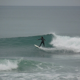 1m short period swell, Schnappers Point