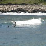 Melvich Bay - Small swell