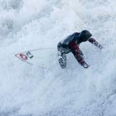 Coney Beach Surfing (Winter!), Trecco Bay