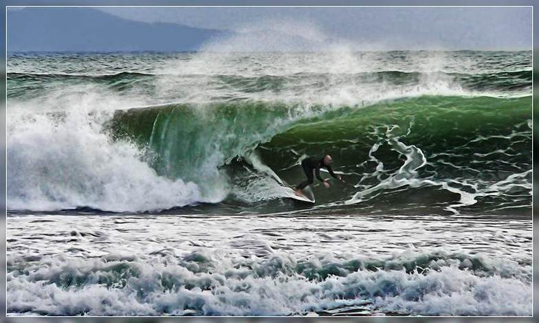 Mount Maunganui surf break