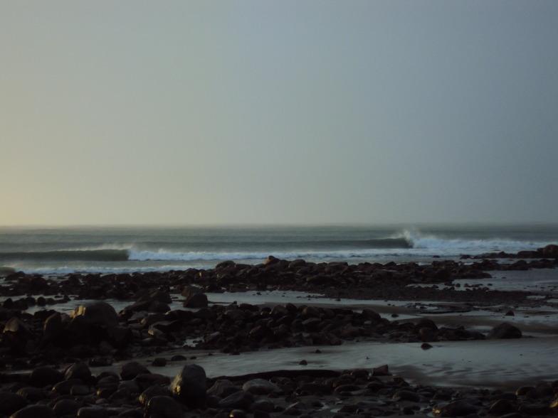 Nicks Point surf break