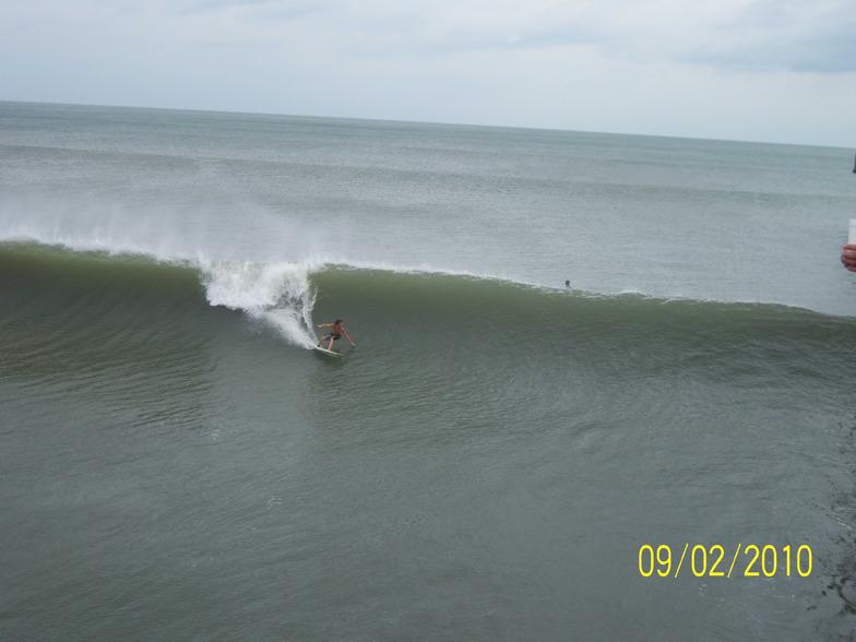 Shane Upchurch bottom turn, Long Beach