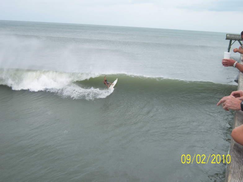 Shane Upchurch cutback, Long Beach
