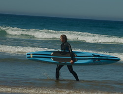 Surfing at Wye River photo
